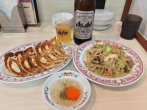 10/14 餃子の王将JR六甲道店
