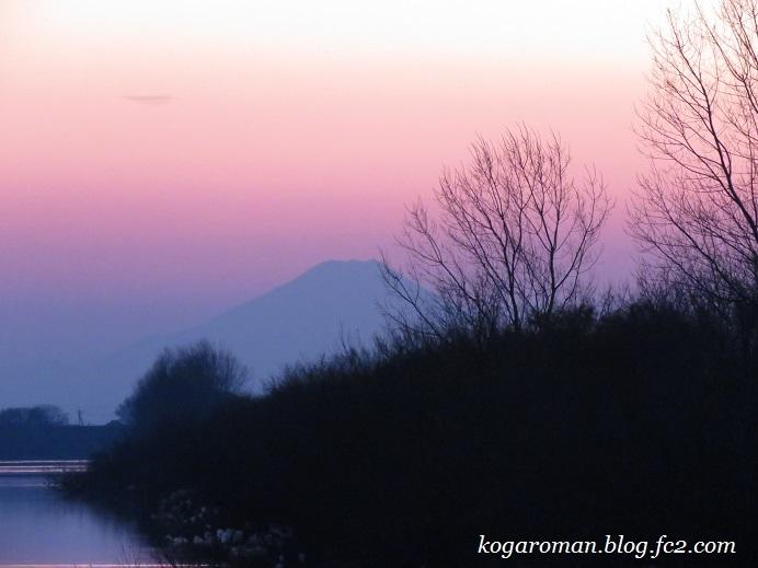 谷中湖の夕景2