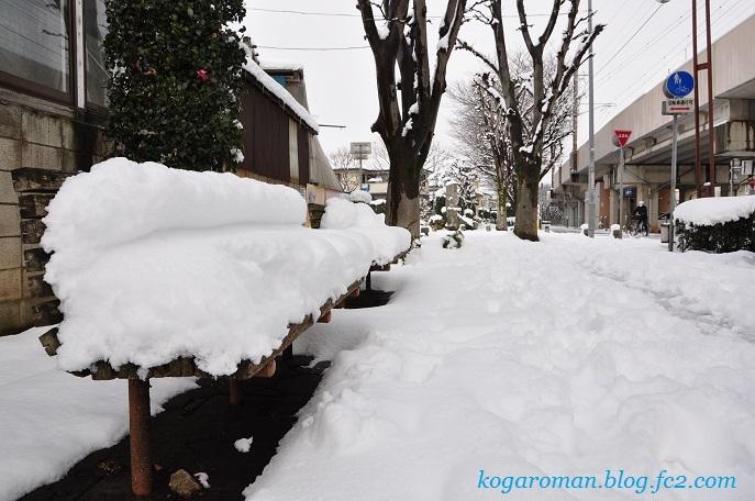 雪景色の四季の径2