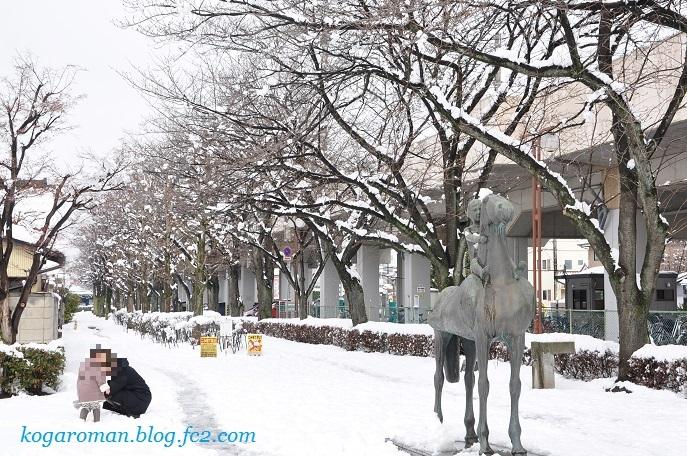 雪景色の四季の径3
