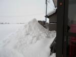 2018年1月28日・雪下ろし後