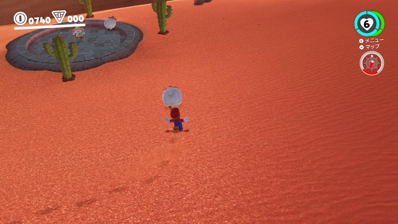 スーパーマリオオデッセイ® 砂の国 砂丘で ヒツジ集め-2