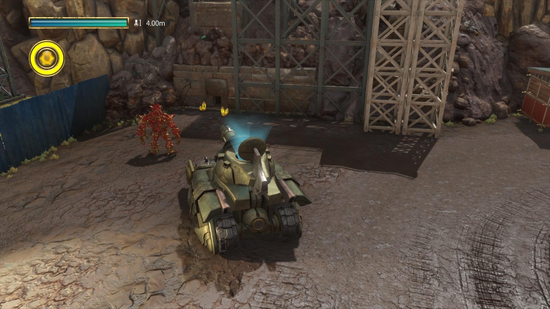 KNACK ふたりの英雄と古代兵団® 7-3 疾走! ナック戦車-1