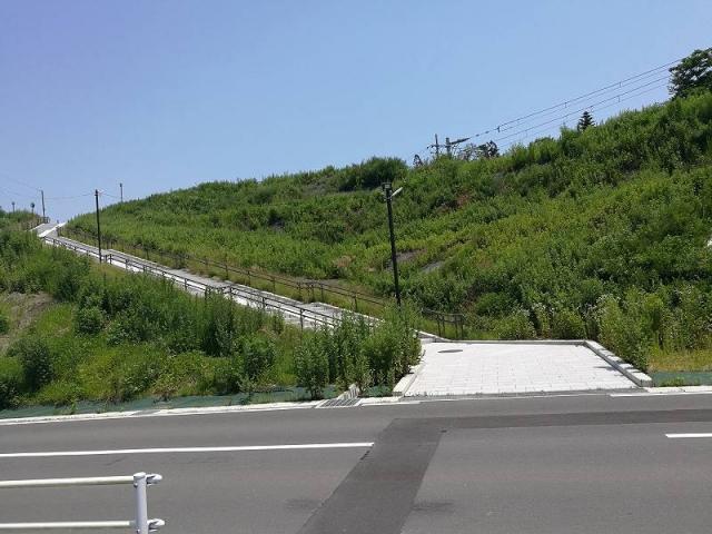 野蒜駅付近階段