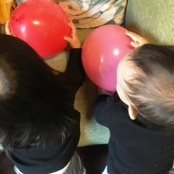 1025予防接種の風船