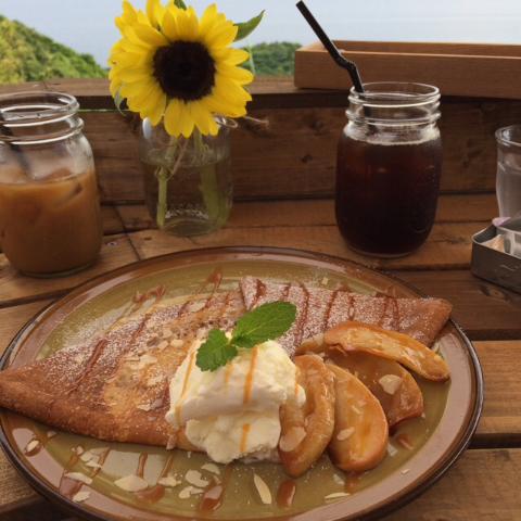 湯浅湾を一望 -glider cafe-
