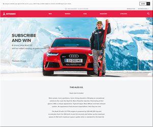 【応募861台目】:Audi 「S3 Sportback」|マルセル・ヒルシャー& Audi REDSTER キャンペーン