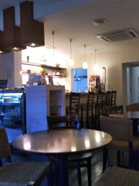 CAFE FLAT 店内