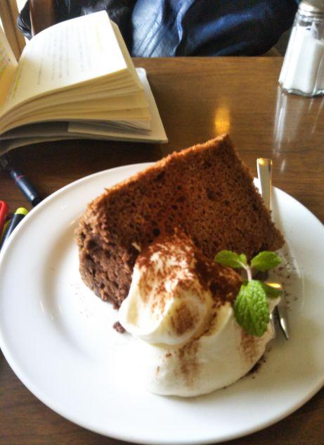 CAFE FLAT ココアシフォン