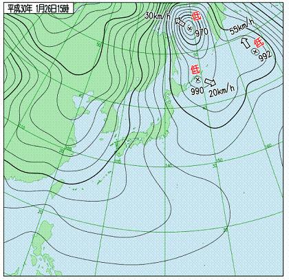 天気図 18012615