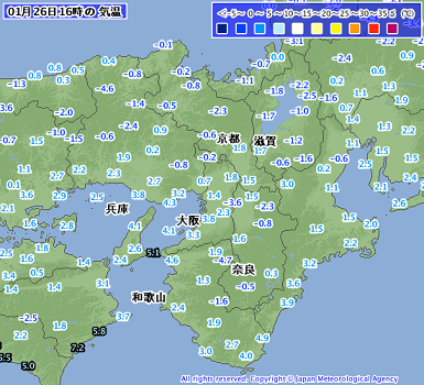 気温 201801261600-00