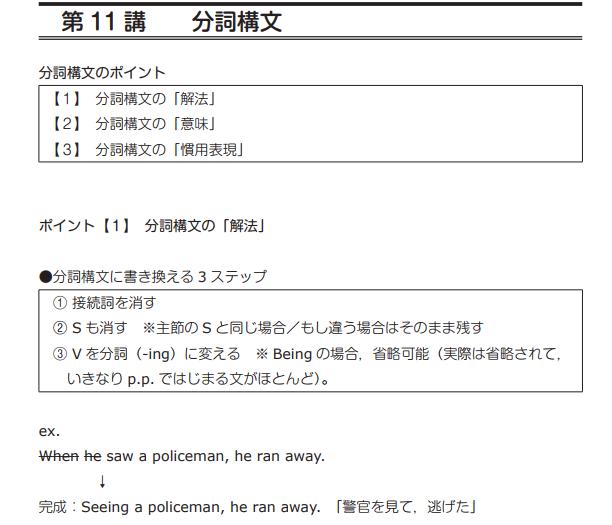 スタディサプリ高3英語テキスト