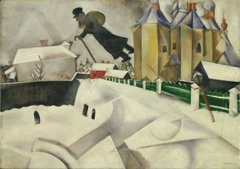 Marc Chagall - Over Vitebsk