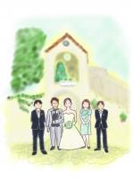 結婚の一幕
