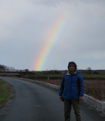 明和町の虹・小