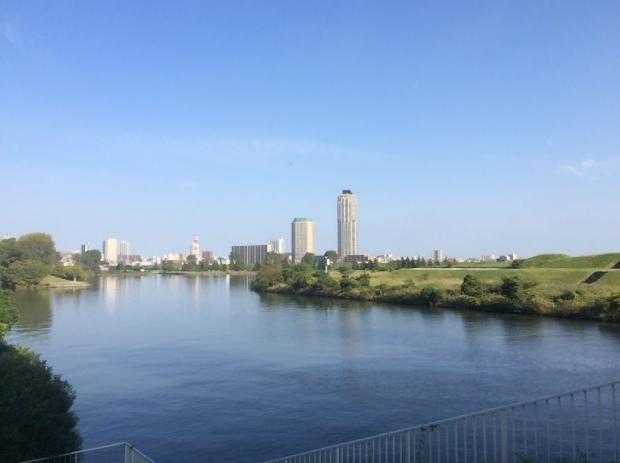 サイクリング@荒川河川敷 (8)