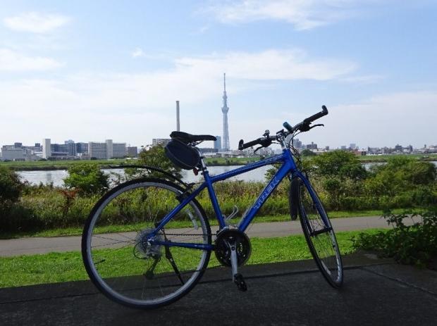 サイクリング@荒川河川敷 (5)