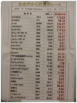 関空2(両替)