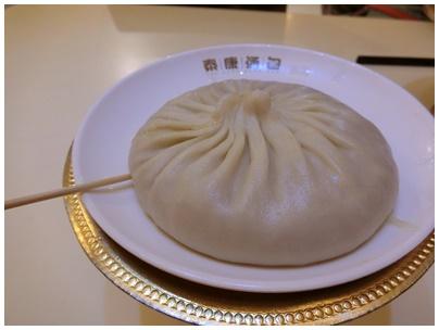 蟹黄大湯包(シエホワンダータンパオ)1