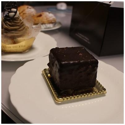 ワッカのケーキ5アールグレイチョコ