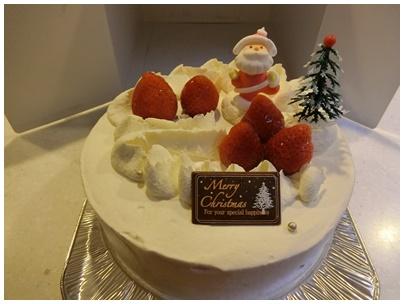 北海道クリスマスケーキ1