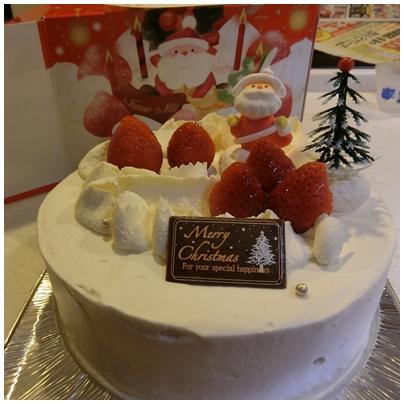 北海道クリスマスケーキ2