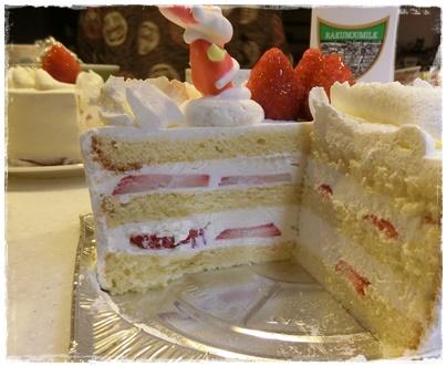 北海道クリスマスケーキ3