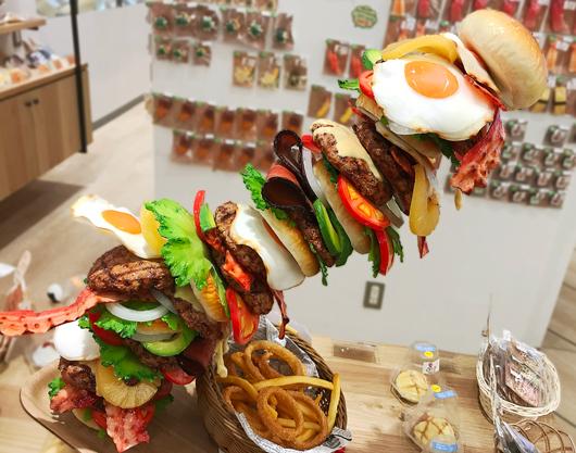 ハンバーガー!?