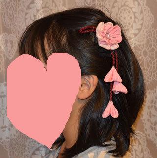 髪飾りの反対側