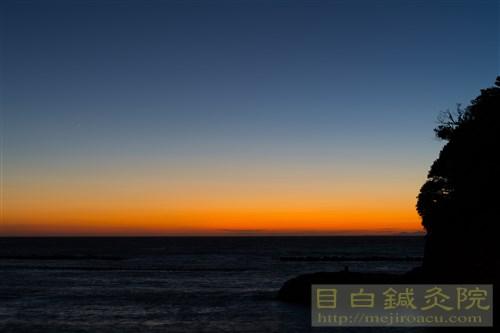 20170918松崎夕陽4