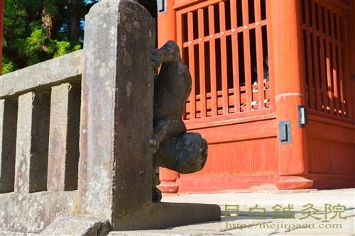 20171026岩木山神社狛犬1