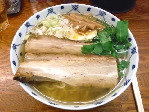 和風焼豚麺