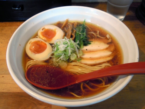 めん屋 平右衛門 THE鶏そば+味玉