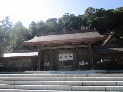佐太神社の門