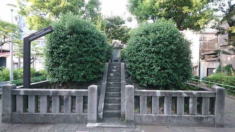 05 妙亀塚近景