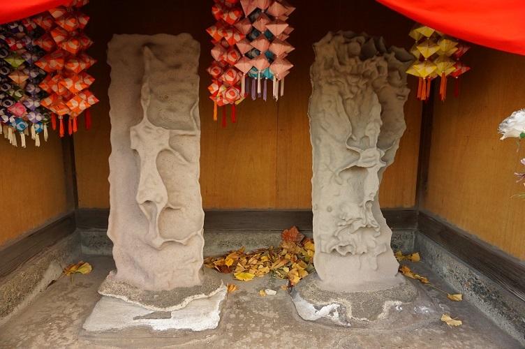 13 出来野厳島神社庚申塔