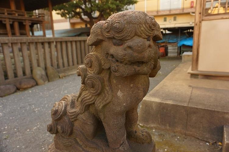 03 塩浜神明神社狛犬