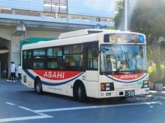 境営業所2336号車 SDG-LR290J1【境車庫~古河駅線】