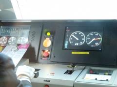 運転台LCD1(2画面)