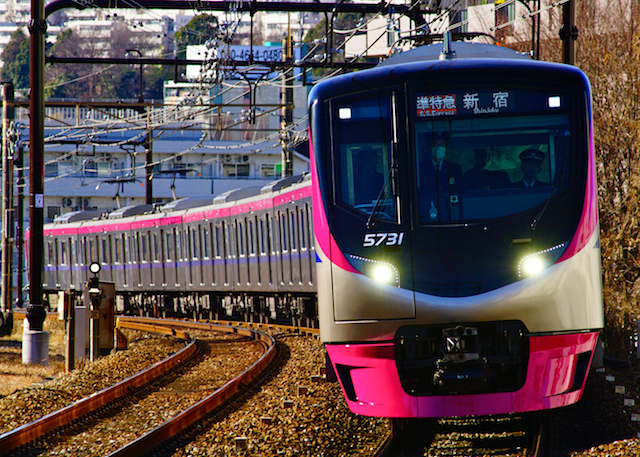 180102 Keio 5000 nagayama1