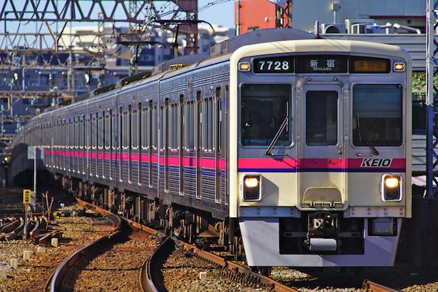180102 Keio 7000 hachimanyama1