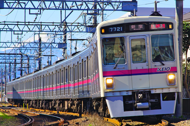 180102 Keio 7000 Mt Fuji1