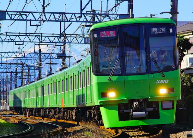 180102 Keio 8000 Green MtFuji1