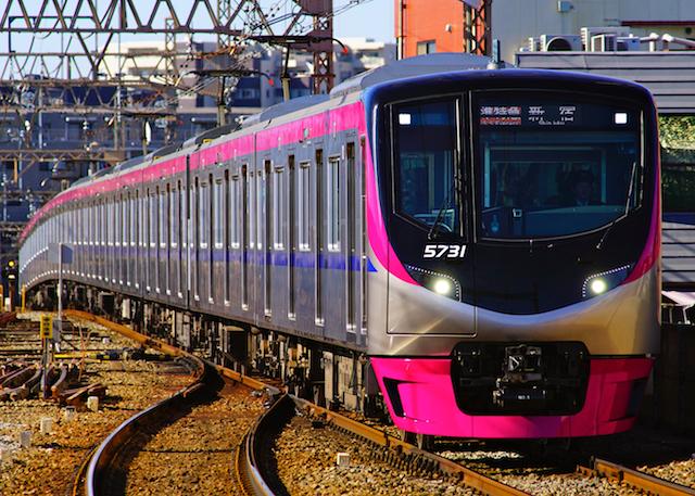 180102 Keio 5000 hachimanyama1