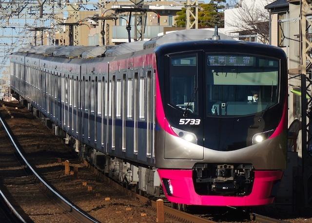 180102 Keio 5000 kamikitazawa1