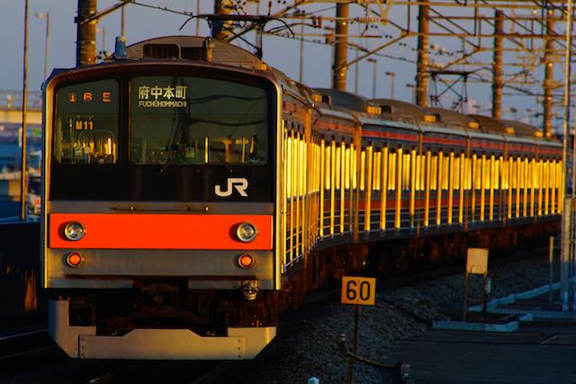 180107 JRE205 musashino1