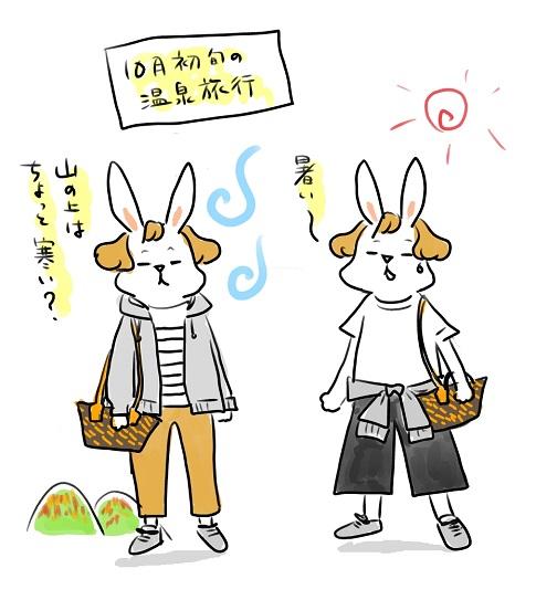 旅行の服2