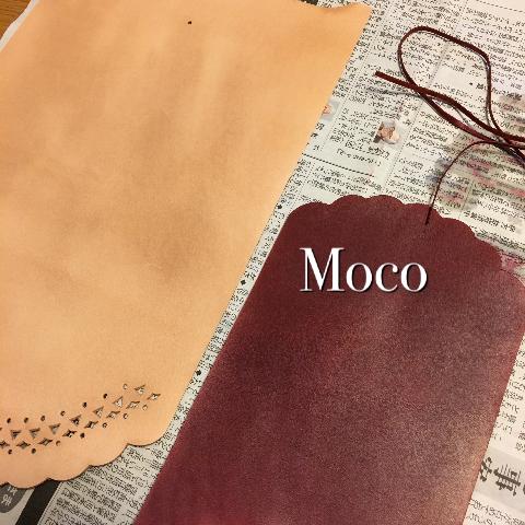 手作り革小物 カードケースとポーチ