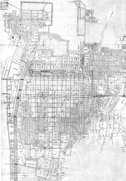 名古屋城下地図