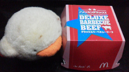 マクドナルド「デラックスチーズ ビーフ」